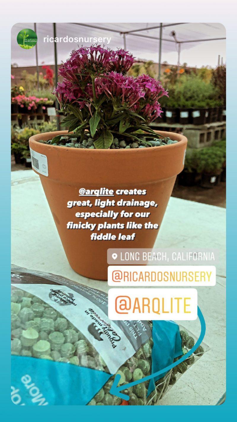Ricardo's Nursery recommends Arqlite Smart Gravel