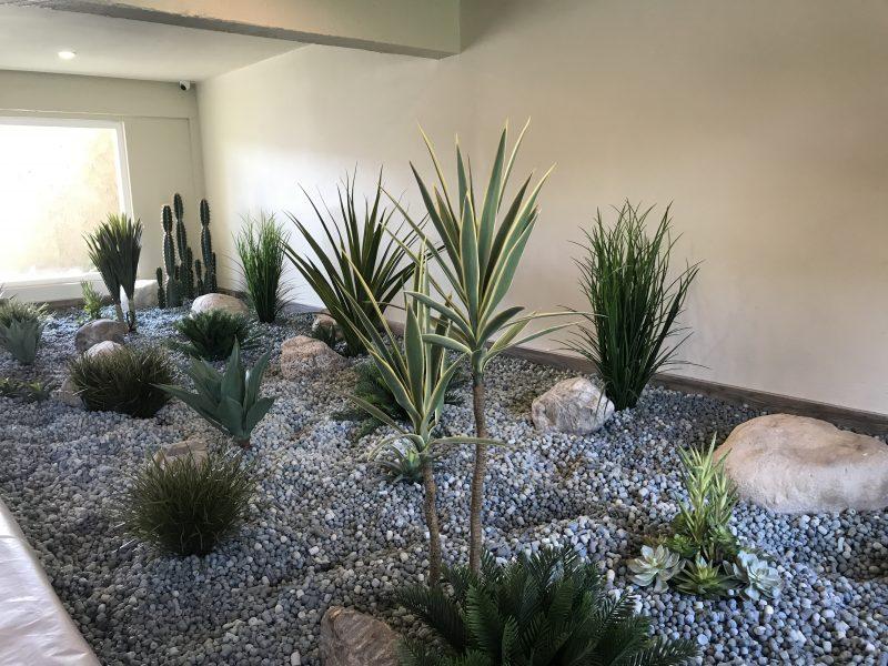 Instant Jungle installing a garden using Smart Gravel