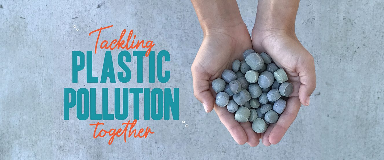 The eco-friendly gravel for landscaping and hydroponics